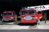 Fire trucks — Foto Stock