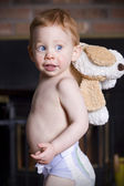 Bébé heureux — Photo