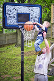 Slam dunk — Stock Photo