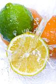 Fruit splash — Stock Photo