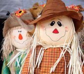 Cute scarecrow — Stock Photo
