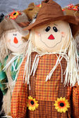 Cute scarecrow — Stock Photo