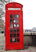 Red Telephone Box London — Stock Photo