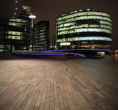 Offices by night — Stock Photo