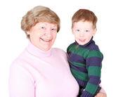 Happy grandma — Stock Photo