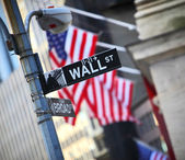 Wall Street — Stock Photo