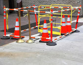 Safety barrier — Stock Photo