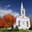 White church — Stock Photo #8421415