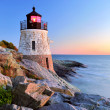 Lighthouse at sunset — Stock Photo #8421775