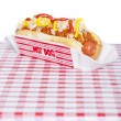 Chili dog — Stock Photo