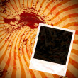 Blood splat background — Stock Photo