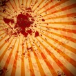 Stock Photo: Blood splat background