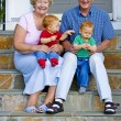 Stock Photo: Grandparents