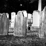 Headstones — Stock Photo