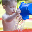 Water fun - Stock Photo