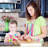 Kurabiye pişirme — Stok fotoğraf