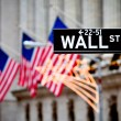 Wall Street sign — Stock Photo #8866595