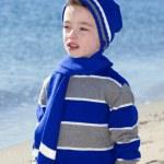 Boy at beach — Stock Photo #8866942