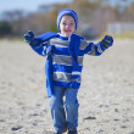 Boy at beach — Stock Photo #8866983