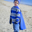 Boy at beach — Stock Photo #8867006