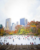 Ice skaters — Stock Photo