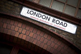 London Road sign — Stock Photo