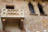 Juliet's balcony (Verona, Italy) — Stock Photo
