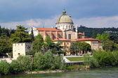 Verona along the river Adige, Italy — Foto Stock