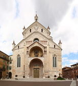 Kathedrale von verona, italien — Stockfoto