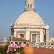 Stock Photo: Dome of Cathedral of Catania, Italy
