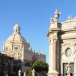 Cathedral of Catania, Italy — Stock Photo #10589981