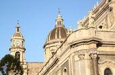 Cathedral of Catania, Italy — Stock Photo