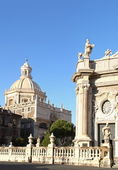 Cathedral of Catania, Italy — Stock Photo
