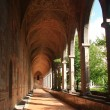 The cloister — Stock Photo