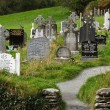 Celtic graveyard — Stock Photo