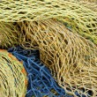 Old fishing nets — Stock Photo