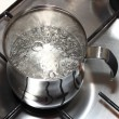 Boiling water - Stock Photo
