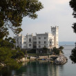 Miramare Castle, Trieste Italy - Stock Photo