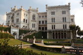 Miramare Castle in Trieste Italy — Stock Photo