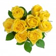 Yellow roses — Stock Photo #8382160