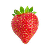 Heart-shaped strawberry — Stock Photo