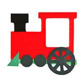 Wooden train — Stock Photo