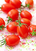 Rode tomaten — Stockfoto