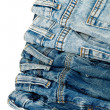 Blue jeans — Stock Photo #9969159