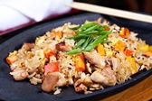 Japanese pilaf — Stock Photo