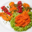 Puree of peppers — Stock Photo