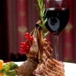 Rib Steak — Stock Photo