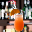 Royalty-Free Stock Photo: Tequila sunrise cocktail