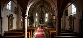 Church Interior — Stock fotografie