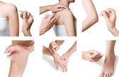 Intra-articular injection — Stock Photo